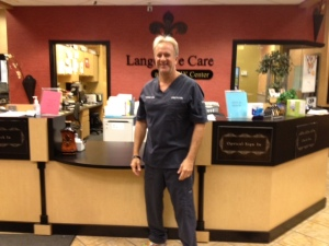 Dr. Michael Lange Optometrist and certified nutrition specialist