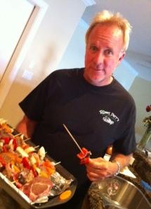 Michael Lange Optometrist and organic chef.