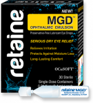 great for dry eye associated with blepharitis.