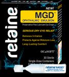great for dry eye associated with blepharitis.