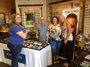 Friendly optical staff at Lange Eye Care Gainesville