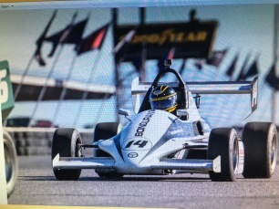 Dr Lange racing Formula race car at Bondurant race school in Arizona.